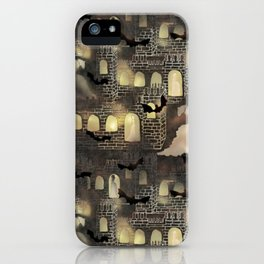 haunted castle iPhone Case