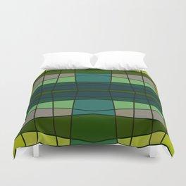 Green Pattern Turtle Duvet Cover