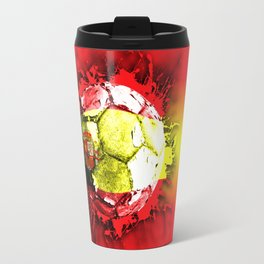 football  spain Travel Mug