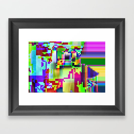 port13x10a Framed Art Print