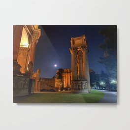 Midnight at the Palace of Good and Evil Metal Print