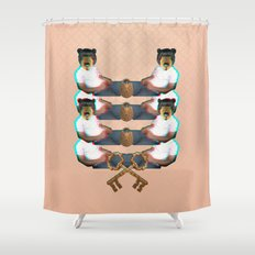 Forbidden Zone Shower Curtain