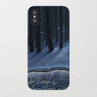 thrones iPhone & iPod Cases featuring And Now My Watch Begins – Game Of Thrones Fan Art by Nicole Cleary