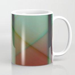Pattern orange green Coffee Mug