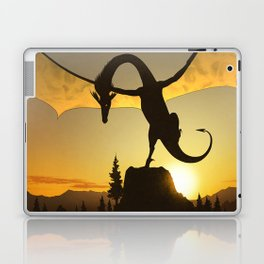 Dragon Sunset Laptop & iPad Skin