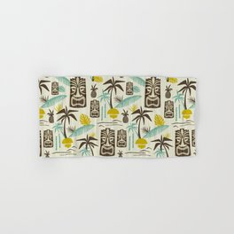 Island Tiki - Tan Hand & Bath Towel