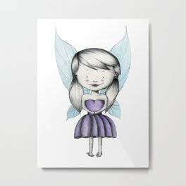 Punk is the Pixie Metal Print