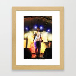 iKendrick Framed Art Print