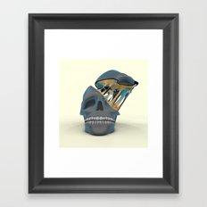 Slimey OOzey Memory Goo Framed Art Print