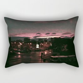 post rain set Rectangular Pillow