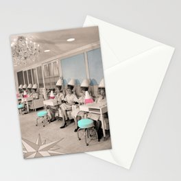 Women in Salon Stationery Cards