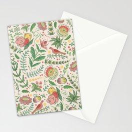 Swedish Floral - Cream Stationery Cards