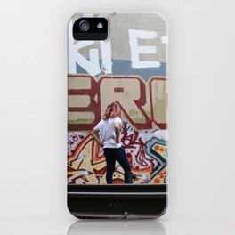 Graffiti Hunting iPhone Case