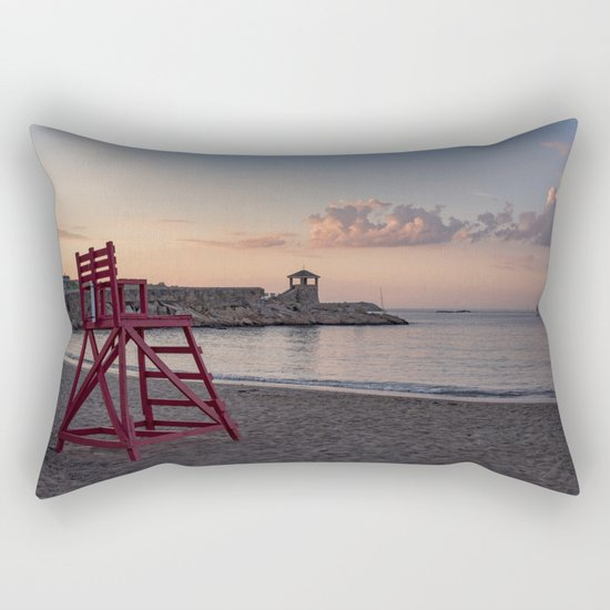 Front Beach After Hours Rectangular Pillow
