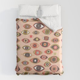 Pattern Project #16 / Hungry Eyes Comforters