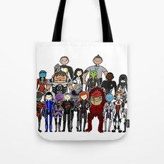 Mass Effect Gang Tote Bag