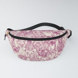 just sphynx cats cherry pearl Fanny Pack