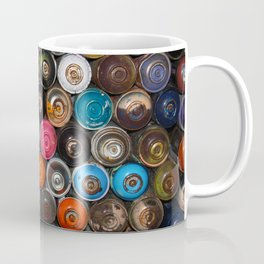 Spray Cans Graffiti Photography Coffee Mug