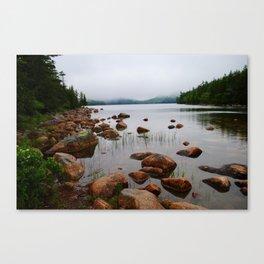 Acadia Fog - Acadia National Park Canvas Print