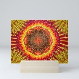 Hail to my African Sun Mini Art Print