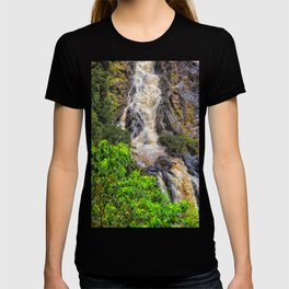 Waterfall in the rainforest T-shirt