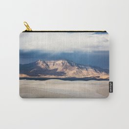 Sunlight on San Andres - Desert Scenery at White Sands New Mexico Carry-All Pouch