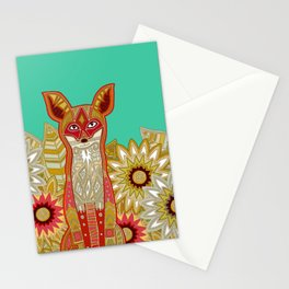 garden fox Stationery Cards