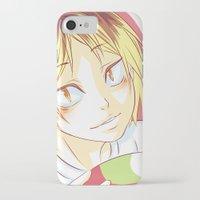 haikyuu iPhone & iPod Cases featuring Kenma Haikyuu!! by SpigaRose
