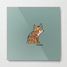 Cat - manx Metal Print