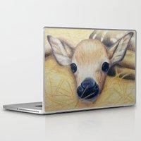 bambi Laptop & iPad Skins featuring Bambi by Erin Schamberger