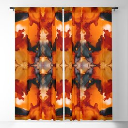 Halloween Mists Kaleidoscope Blackout Curtain
