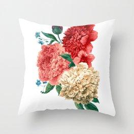 Beautiful YELLOW, PINK, ROSE - Jersey Beauty Flower Throw Pillow