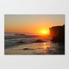 Beach Glow Canvas Print