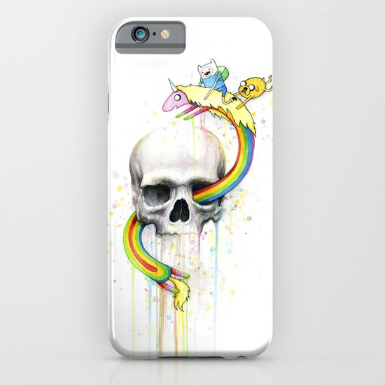 Adventure through Time and Face iPhone & iPod Case