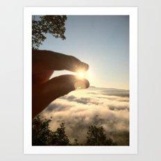 A Pinch of Sunshine Art Print