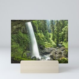 Looking Out From Under North Falls Mini Art Print