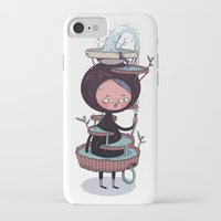 bath iPhone & iPod Cases featuring Bath Suit by Kensausage