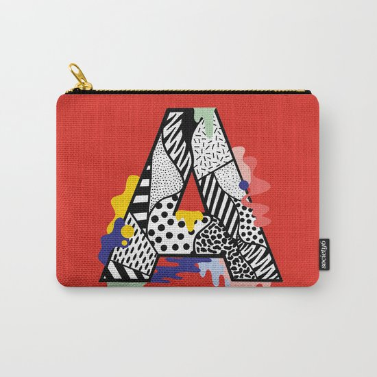 A for ….. Carry-All Pouch