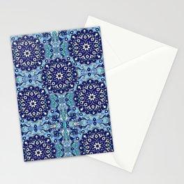 blue sky tile Stationery Cards