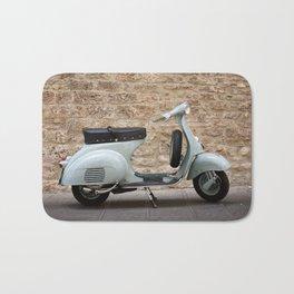 Italian vintage motorcycle Bath Mat
