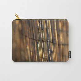 Bamboo Fence Carry-All Pouch