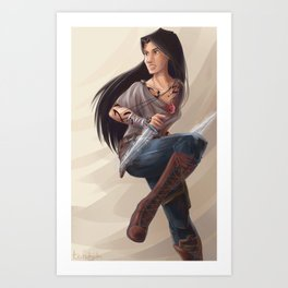 Isabelle Lightwood Art Print