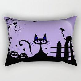 Cat Halloween-Nightmare Rectangular Pillow
