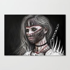 Ashes and What Once Was Canvas Print