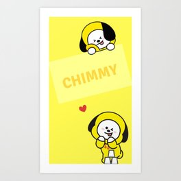 Cute Chim Art Print