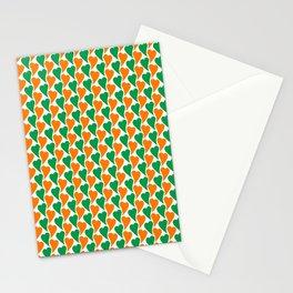 wavy Irish hearts Stationery Cards