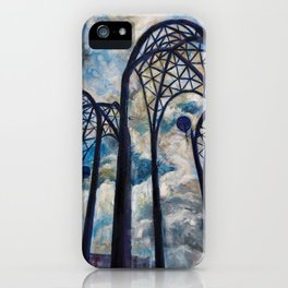 Seattle Science Center Arches iPhone Case