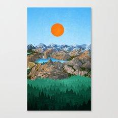 Rock Trip Canvas Print