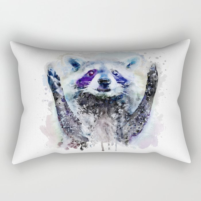 Cute Beggar Rectangular Pillow