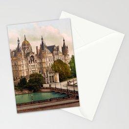 Schwerin Castle Germany - Neuschwanstein Of The North - Circa 1900 Photochrom Stationery Cards